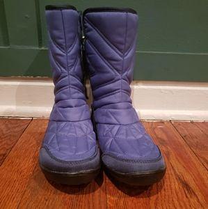 Columbia blue boots